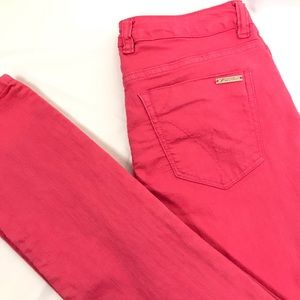 """Kenneth Cole Women's Pink Jeans Size 27 Inseam 32"""""""